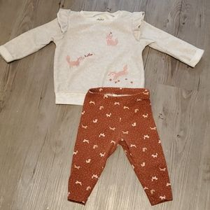 Child of Mine | Baby 2 Piece Outfit | Foxes